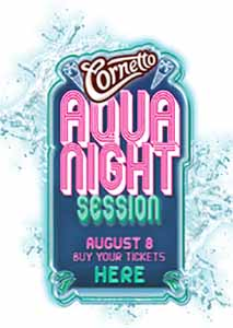Cornetto Aqua Night Session