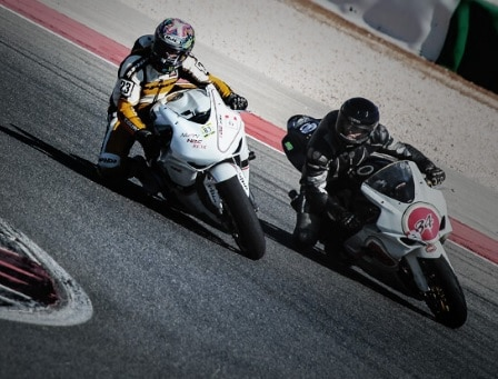 Motorbike Experience At The Racing School