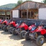 red quads ready to rent