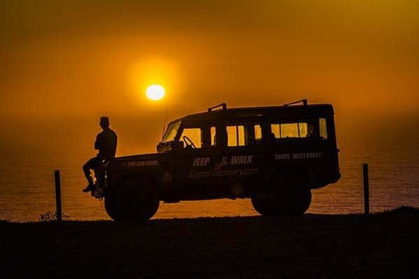 Sunset Jeep Tour in Sagres