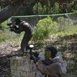 2 boys doing Paintball in Albufeira