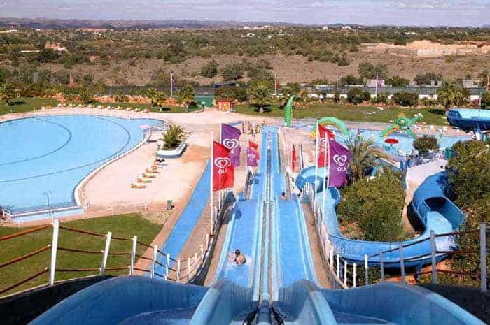 One of the highest slides at Slide and Splash
