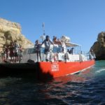 Lince boat caves trip Vilamoura