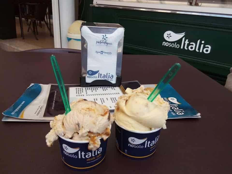 Two Ice Creams in No Solo Italia