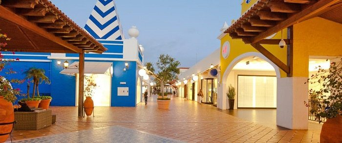 Le centre commercial d'Algarve shopping