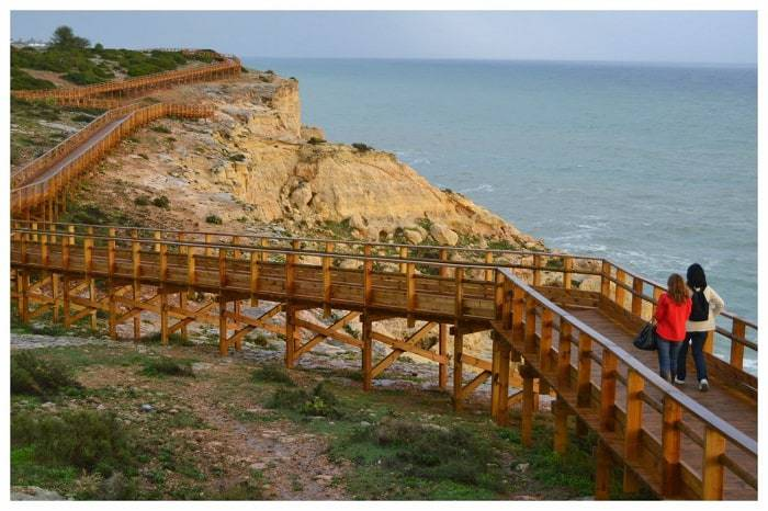 Carvoeiro Boardwalk.