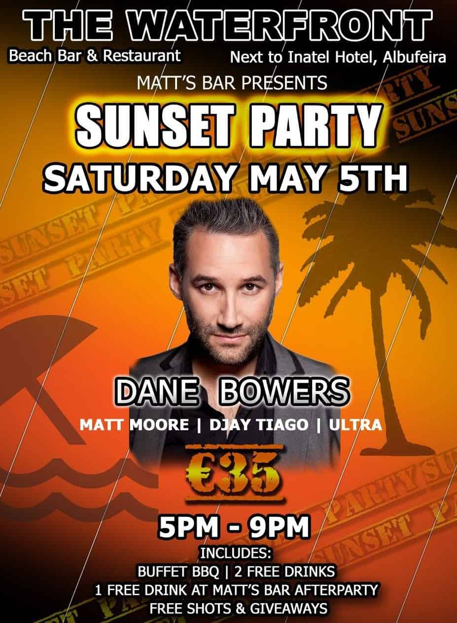 5th May Sunset Party