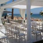 the waterfront terrace rwady for a wedding