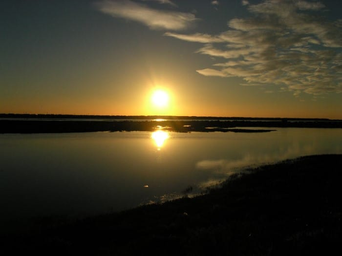 Sunset Ria Formosa
