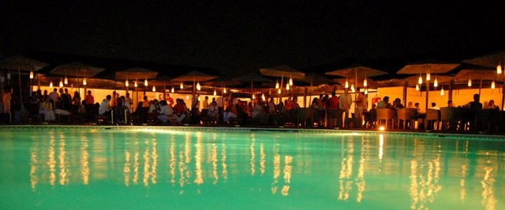 Duna Beach Night Poolside Lagos