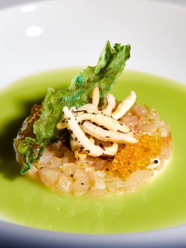 Fish Dish at Gusto by Heinz Beck