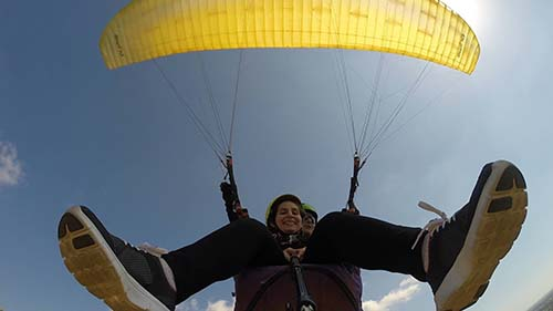 Paragliding And Paratrike
